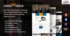 Legal Eagle – Attorney & Lawyer HTML5 Template