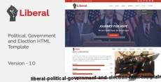 Liberal - Political, Government and Election HTML Template