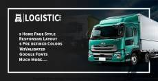 Logistic Pro - Cargo, Shipping, Warehouse, Logistic & Transport Template