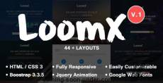 LoomX - Coming Soon Under Construction Template