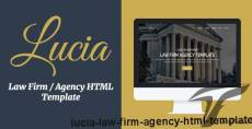 Lucia - Law Firm / Agency HTML Template