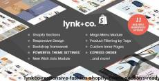 Lynk+Co - Responsive Fashion Shopify Theme (Sections Ready) By halothemes