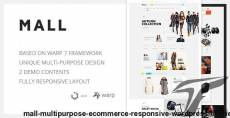 Mall — Multi-Purpose eCommerce Responsive WordPress Theme