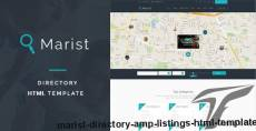 Marist - Directory & Listings HTML Template
