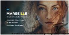 Marseille - Fantastic Animated Photography Template