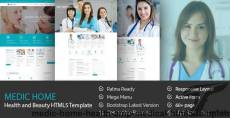 MediC Home - Health & Medical HTML5 Template