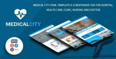 Medical City - Multi Theme For Hospital, Health Care, Clinic, Nursing and Doctor Html Template