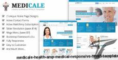 Medicale - Health & Medical Responsive HTML5 Template