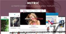 Metric- Ultimate E-Commerce Responsive HTML5 Template