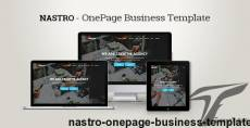 Nastro - Onepage Business Template