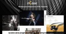 Ncase - One Page Multipurpose Responsive HTML Template