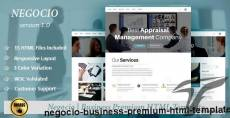 Negocio - Business Premium HTML Template
