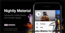 Nightly Material | Mobile Theme for WordPress