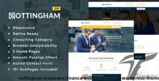 Nottingham : Business, Finance and Consultancy WordPress Theme