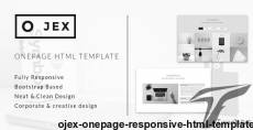 OJex - Onepage Responsive HTML Template