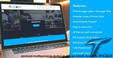 OnCloud Multipurpose Material Design HTML5 Template (RTL Support)