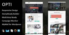 Opti - Multipurpose Responsive Email Template with Stampready Builder Access