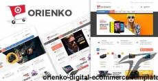 Orienko - Digital eCommerce Template
