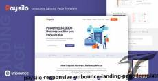 Paysilo — Responsive Unbounce Landing Page Template By thememor