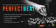 PerfectBeat - DJ Booking Agency Muse Template