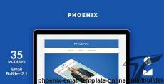 Phoenix Email Template + Online Emailbuilder 2.1