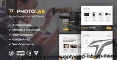 PhotoLab - Photo Supply & Lab WP Theme