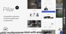 Pillar Multipurpose HTML with Page Builder