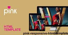 Pink - Responsive HTML Template