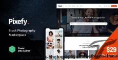 Pixefy | Stock Photography Marketplace Theme By axiomthemes