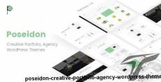 Poseidon | Creative Portfolio - Agency WordPress Theme