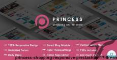 Princess - Shopping Responsive Prestashop 1.7 Theme