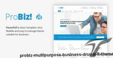 ProBiz! - Multipurpose Business Drupal 8 Theme