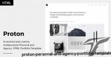Proton - Personal and Agency Portfolio Template