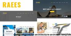 Raees  – Responsive Architecture / Architect Template
