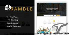 Ramble - Creative Travel Agency HTML Template