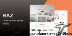 Raz – Furniture Shopify Theme By bootxperts