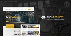 Real Factory - Factory / Industrial / Construction Responsive WP Theme