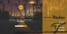 Rediso Creative Under Construction Template
