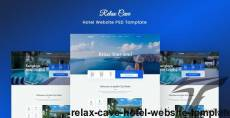 Relax Cave - Hotel Website Template By sabbirmc