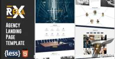 Relax - Creative Agency Landing Page