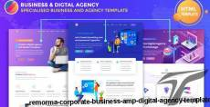 Remorma - Corporate Business & Digital Agency Template By light-themes