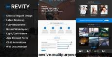 Revity - Responsive Multipurpose Bootstrap Template