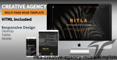 RITLA Creative Agency Muse Template By k-project