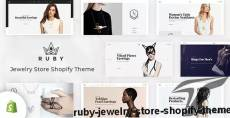 Ruby – Jewelry Store Shopify Theme By hastech