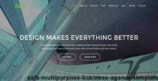 Safa - Multipurpose Business / Agency Template
