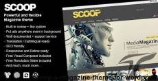 Scoop - A Magazine Theme For WordPress