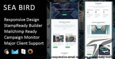 Sea Bird - Multipurpose Responsive Email Template + Stampready Builder