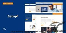 Setup - Banking and Financial Services HTML5 & CSS3 Template