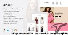 Shop - eCommerce Responsive Email Template