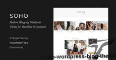 Soho - WordPress Blog Theme